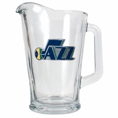 Utah Jazz 60 oz Glass Pitcher