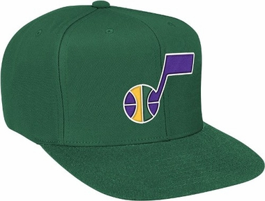 Utah Jazz Basic Logo Snap Back Hat