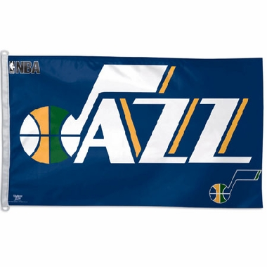 Utah Jazz Big 3x5 Flag