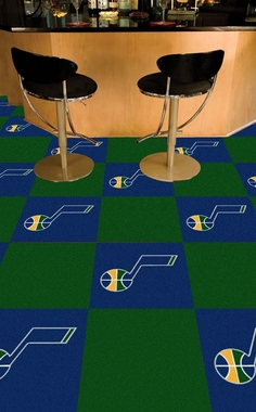 Utah Jazz Carpet Tiles