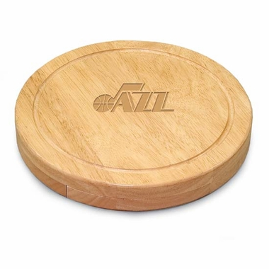 Utah Jazz Circo Cheese Board