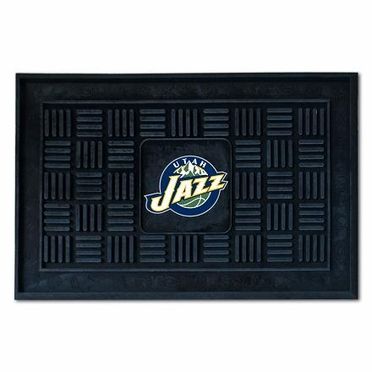 Utah Jazz Heavy Duty Vinyl Doormat
