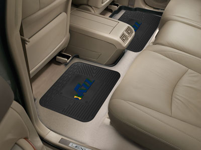 Utah Jazz SET OF 2 Heavy Duty Vinyl Rear Car Mats