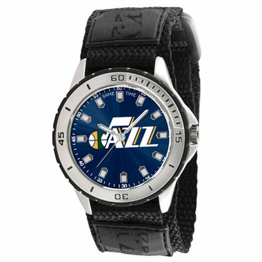 Utah Jazz Mens Veteran Watch