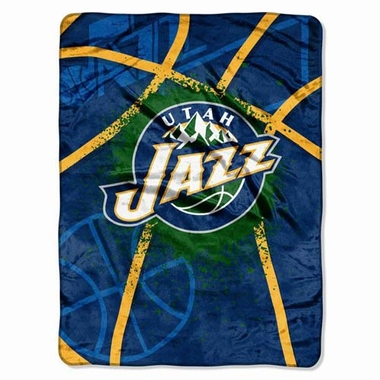 Utah Jazz Oversize Plush Blanket