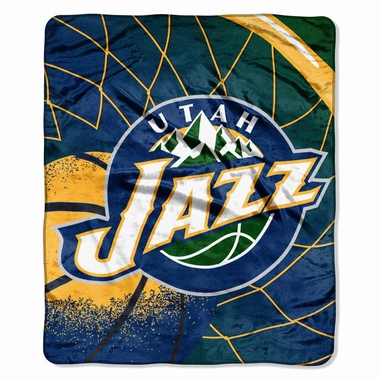 Utah Jazz Plush Blanket