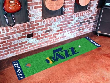 Utah Jazz Putting Green Mat
