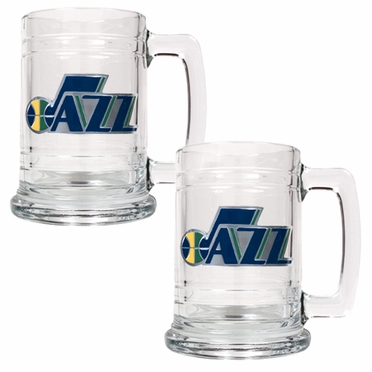 Utah Jazz Set of 2 15 oz. Tankards