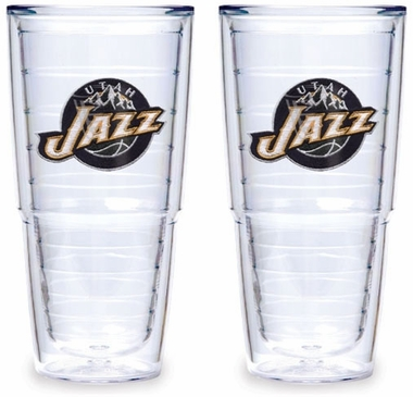 Utah Jazz Set of TWO 24 oz. Tervis Tumblers