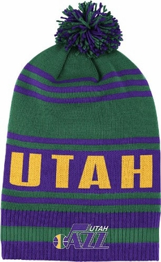 Utah Jazz Throwback Pom Hat