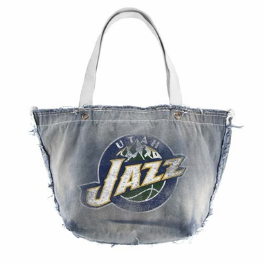 Utah Jazz Vintage Tote (Denim)