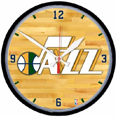 Utah Jazz Wall Clock