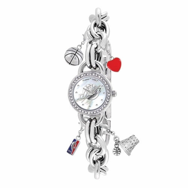 Utah Jazz Women's Charm Watch