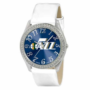 Utah Jazz Women's Glitz Watch