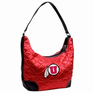 Utah Quilted Hobo Purse