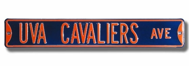 UVA Cavaliers Lane Street Sign
