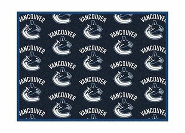 "Vancouver Canucks 3'10"" x 5'4"" Premium Pattern Rug"