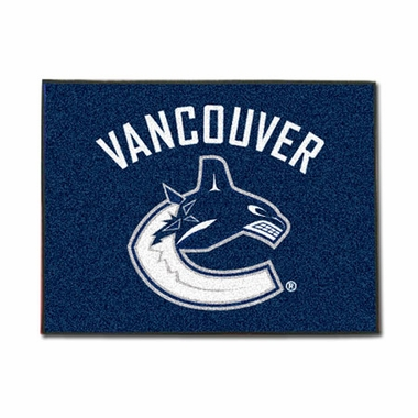 Vancouver Canucks 34 x 45 Rug