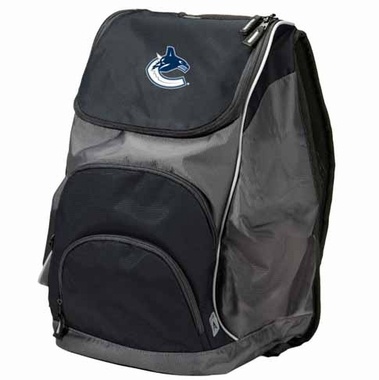 Vancouver Canucks Action Backpack (Color: Black)