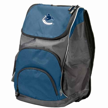 Vancouver Canucks Action Backpack (Color: Navy)
