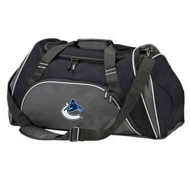 Vancouver Canucks Action Duffle (Color: Black)