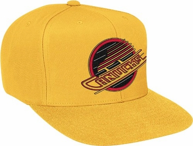 Vancouver Canucks Basic Logo Snap Back Hat