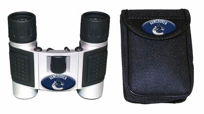 Vancouver Canucks Binoculars and Case