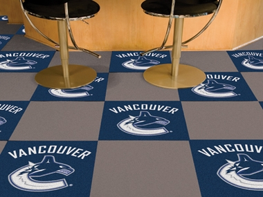 Vancouver Canucks Carpet Tiles