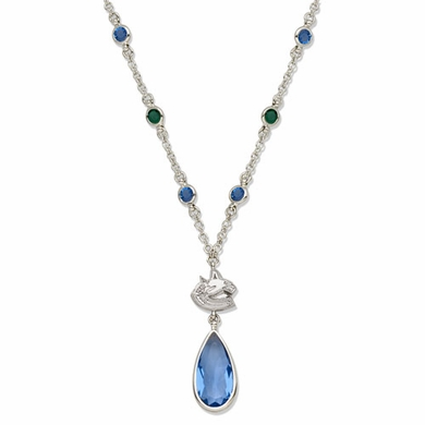 Vancouver Canucks Crystal Logo Necklace