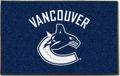 Vancouver Canucks Economy 5 Foot x 8 Foot Mat