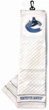Vancouver Canucks  Embroidered Golf Towel
