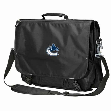 Vancouver Canucks Executive Attache Messenger Bag