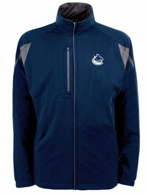 Vancouver Canucks Mens Highland Water Resistant Jacket (Team Color: Navy)