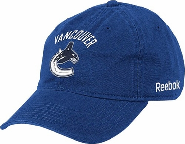 Vancouver Canucks Logo Team Slouch Adjustable Hat