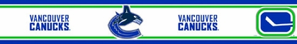 Vancouver Canucks Peel and Stick Wallpaper Border