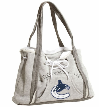 Vancouver Canucks Property of Hoody Purse