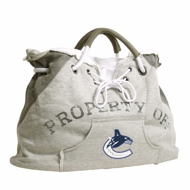 Vancouver Canucks Property of Hoody Tote