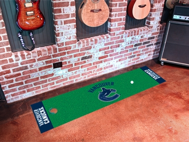 Vancouver Canucks Putting Green Mat