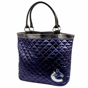 Vancouver Canucks Quilted Tote