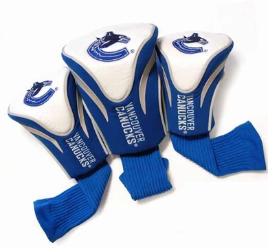 Vancouver Canucks Set of Three Contour Headcovers