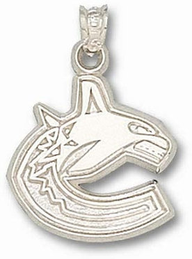 Vancouver Canucks Sterling Silver Pendant