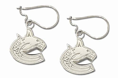 Vancouver Canucks Sterling Silver Post or Dangle Earrings