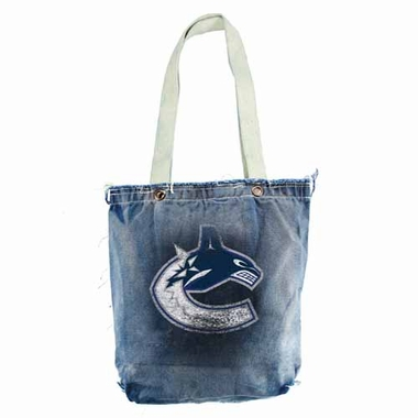 Vancouver Canucks Vintage Shopper (Denim)