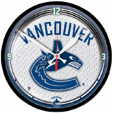 Vancouver Canucks Wall Clock