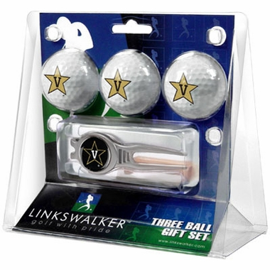 Vanderbilt 3 Ball Gift Pack With Kool Tool