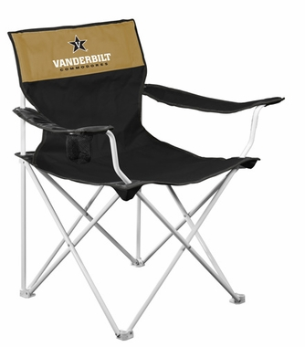 Vanderbilt Canvas Adult Folding Logo Chair