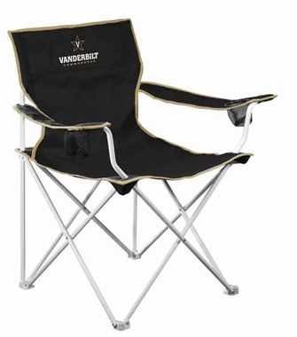 Vanderbilt Deluxe Adult Folding Logo Chair