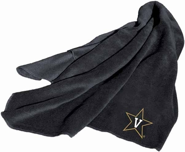 Vanderbilt Fleece Throw Blanket