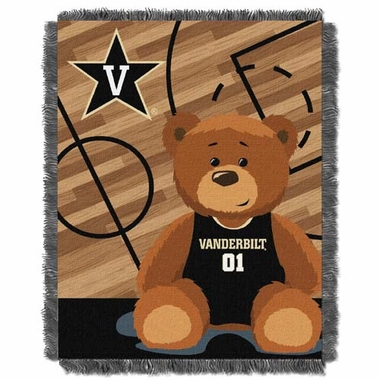 Vanderbilt Jacquard BABY Throw Blanket