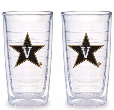 Vanderbilt Set of TWO 16 oz. Tervis Tumblers